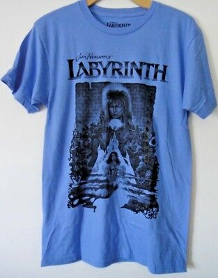 a78f8269f Jim Henson's Labyrinth David Bowie Graphic Tee T-Shirt Officially Licensed  Mens