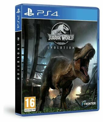 Jurassic World Evolution (PS4) BRAND NEW SEALED JURASSIC PARK