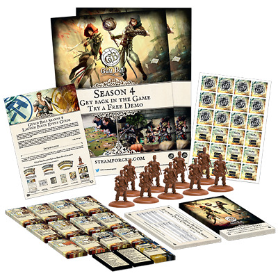 2 sets Guild Ball Farmers Guild Launch Event Pk// Old Fathers Harvest Party Pk