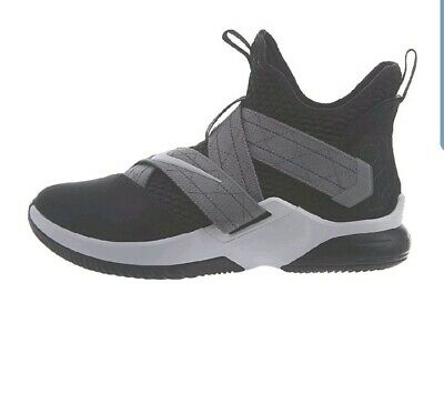 36cafc8be5c8b NIKE LEBRON SOLDIER XII 12 Boys Sz 7Y Mens 7 Shoes AA1352-001 Youth ...