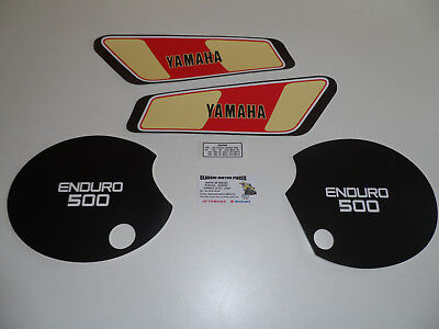 Xt500 1977  Emblemes Compatible Reservoir+ Caches