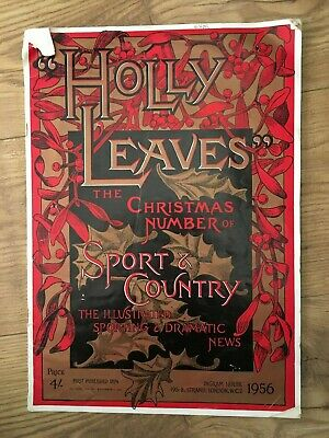 Holly Leaves 1956 Sport & Country