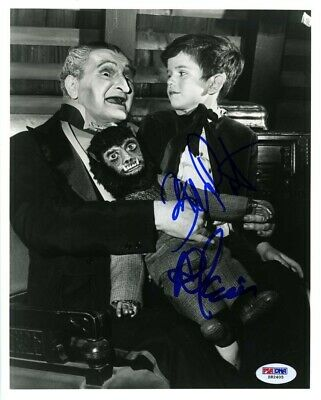 The Munsters Al Lewis Butch Patrick Signed Autographed 8x10 Photo PSA/DNA COA