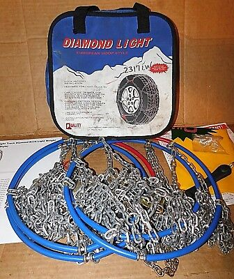 2317LW Diamond Back Light Truck/SUV Tire Snow Chains - Never Used