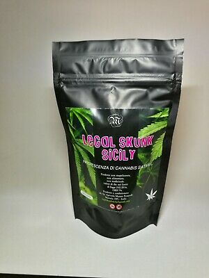LEGAL SKUNK SICILY ERBA SATIVA LIGHT kompolti 40 GR