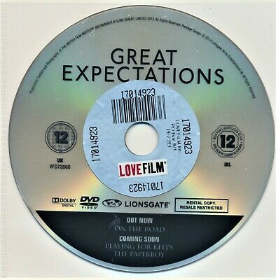 Great Expectations 2013 DVD