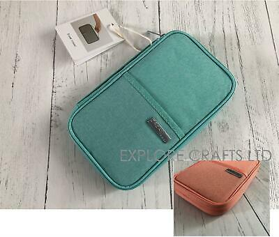 Family Travel Organiser Passport Document Holder RFID Cards Tickets Wallet Pouch