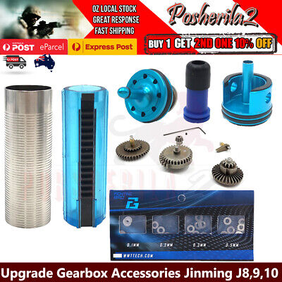 Upgrade Gearbox Parts Metal Gear Shim Set JinMing Gen8 J9 10 M4 ACR Gel Blaster