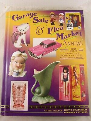 GARAGE SALE & FLEA MARKET ANNUAL TENTH EDITION (2002) Hard Cover