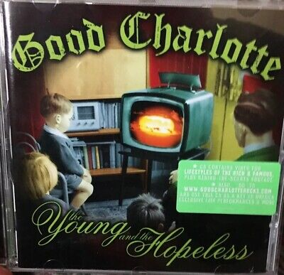 Good Charlotte.The Young And The Hopeless. 2002 14 Track CD Album. Epic.