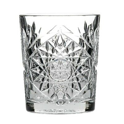 Libbey Retro Hobstar Whiskey Glass 350ml