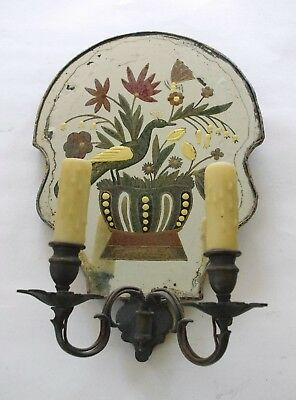 Beautiful Edward F. Caldwell Mirrored Sconce From 1925. OFFERS WELCOME.