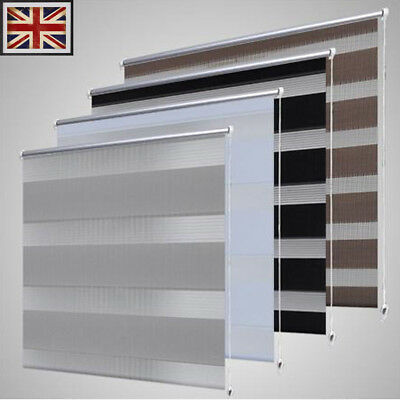 Zebra Blinds Polyester roller blind Different Colours and Sizes Available UK