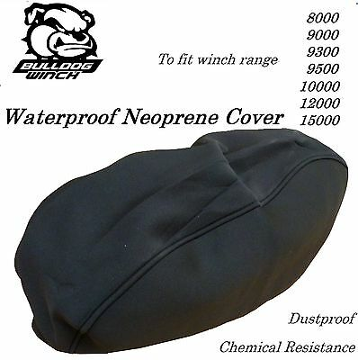 Bulldog Winch Neoprene Cover 8000 9300 9500 10000 12000 15000LB  XL SnuglyFit 04