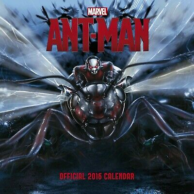 Official Ant-Man 2016 Square Wall Calendar (Marvel AntMan Movie) - Collectors