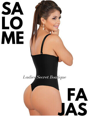 Fajas Colombianas Salome 0212 Body Suit Shaper Thong Reductoras Moldeadoras NEW