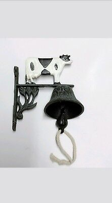 Cast Iron Door Bell Bracket Wall Mounted Doorbell