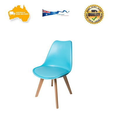 Retro Replica Eames Dining Office Lounge DSW PU Padded Seat Chair FIVE COLORS