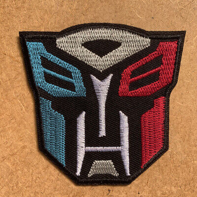 1 pcs Transformer Fabric Embroidered Cloth Iron On Patch Applique superman #877