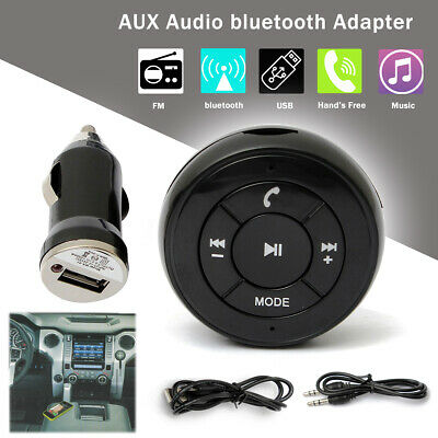 3.5mm USB Bluetooth 3.0 Car Wireless Stereo AUX Audio Music Receiver Adapter