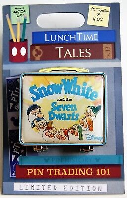 DISNEY WORLD LUNCH TIME TALES SNOW WHITE and the SEVEN DWARFS PIN LE 1500