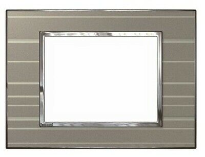 Legrand ARTEOR 770-SERIES DOUBLE SOCKET COVER PLATE Horizontal, Brown