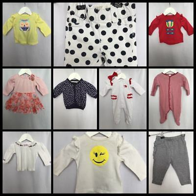 Baby Girls Size 000 Lot The Kids Store Dymples Next Cotton On Baby Biz #G148