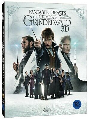 Fantastic Beasts : The Crimes of Grindelwald ( 2Disc : 3D + 2D Blu-ray )