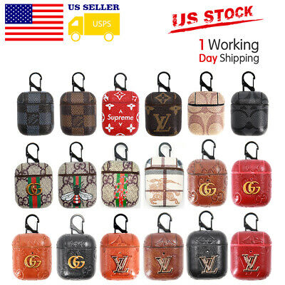 Leather Earphone Protective Case for Air Pod Apple Airpods Charging Bag Cover