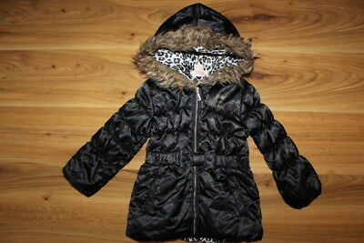 Juicy Couture girls black coat 24 months *I'll combine postage*(163)
