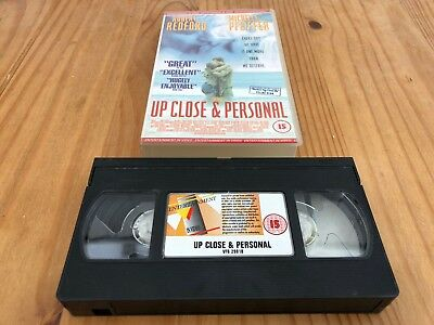 Up Close and Personal VHS Cassette (Robert Redford, Michelle Pfeiffer)