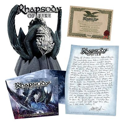 RHAPSODY OF FIRE - Into The Legend CD BOX SET Dragon Statue Limited 1000 copies