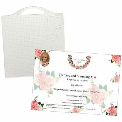 Scarlett Rose Crafts Easymat & 12in x 12in Piercing Mat Bundle