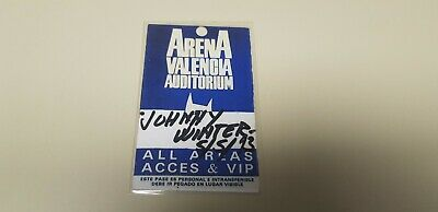 Jj-Backstage Concierto Johnny Winter  5/5/1993  Arena Valencia