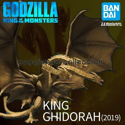 Pre BANDAI S.H.MonsterArts GODZILLA KING OF THE MONSTERS KING GHIDORAH 2019