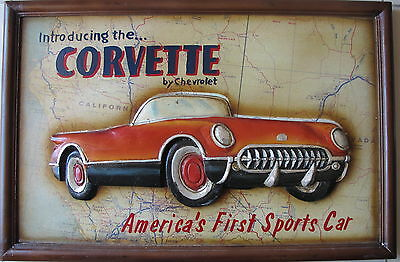 America's First Sports Car~3 D Vision~introducing the CORVETTE by Chevrolet