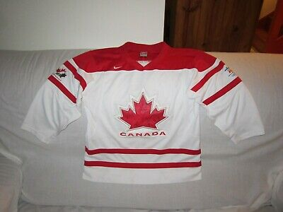Canada Vancouver 2010 Winter Games Ice Hockey Nike Jersey Kids Size 8/14