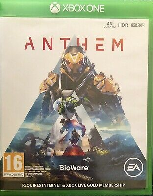 Anthem For Microsoft Xbox One Supplied In Original Case (Free UK Post)