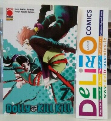 DOLLY KILL KILL N.7 Ed. PLANET MANGA SCONTO 10%