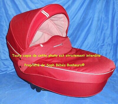 Nacelle landau WINDOO bébé confort Oxygen red rouge HIGH TREK LOOLA STREETY