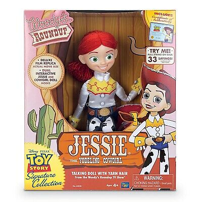 "Toy Story Signature Range Collectible Cowgirl Jessie 16"" Doll Action Figure"