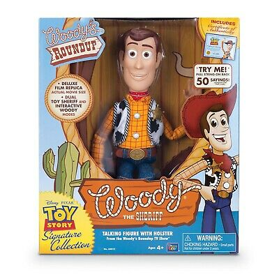 "Toy Story Signature Range Collectible Sheriff Woody 16"" Doll Action Figure"