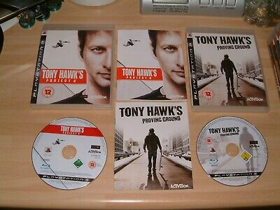 Tony Hawk`s Proving Ground + Project 8 . Ps3 Playstation 3 Skateboarding Games