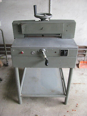 Electric Paper Guillotine on own Stand