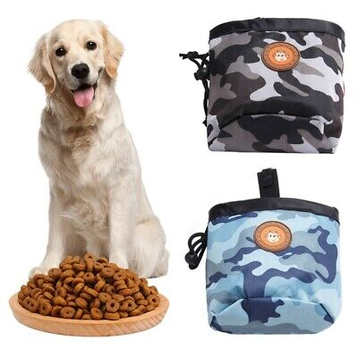Pet Puppy Dog Snack Obedience Agility Bait Training Food Treat Waist Pouch Bag