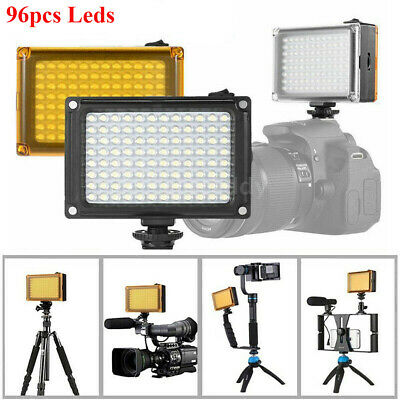 Rechargable 5400K LED Video Light Lamp Photo Studio Wedding Party fr DSLR Camera