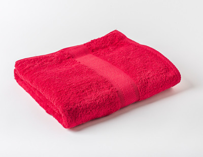 60 x Red Luxury 100% Egyptian Cotton Hairdressing Towels Salon 50x85cm