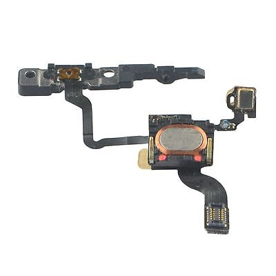 For iPhone 4 Power Flex Cable With Microphone & Ear Speaker and Bracket