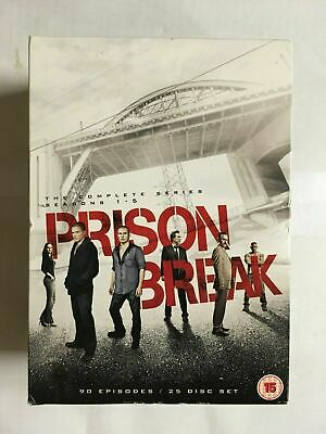 Prison Break: The Complete Series Season 1-5: DVD  NEW & UNsealed WF3