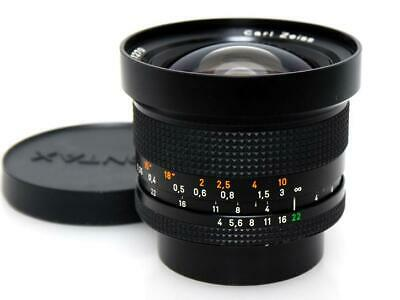 Contax Carl Zeiss Distagon 18mm F4 T* MMJ Ultra Wide Lens Excellent Japan F/S